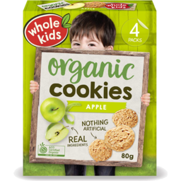 Photo of Whole Kids Cookies - Apple (4 Pack)