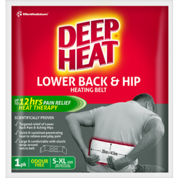 Photo of Deep Heat Lower Back & Hip Heating Belt 1 Pack