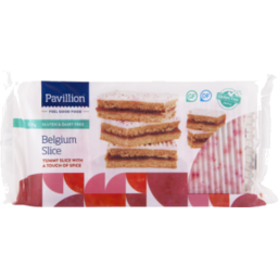 Photo of Pavillion Foods Gluten & Dairy Free Belgium Slice 330g