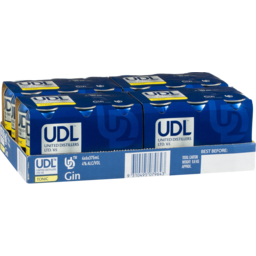 Photo of UDL Gin & Tonic 4% 375ml 24 Pack