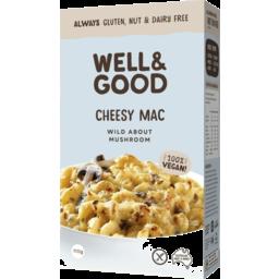 Photo of Well & Good Cheesy Mac Wild About Mushroom 110g