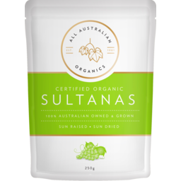 Photo of All Australian Organic Sultanas