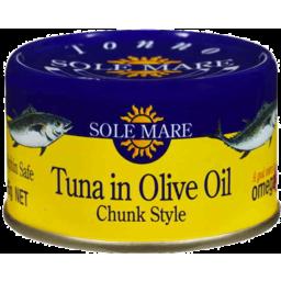 Photo of Sole Mare Tuna In Olive Oil 95gm