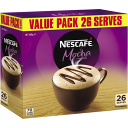 Photo of Nescafe Coffee Mixes Mocha 26pk 18g
