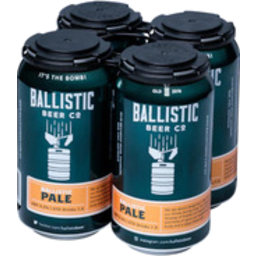 Photo of Ballistic Pale Ale Can