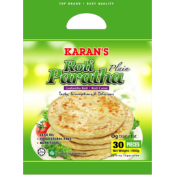 Photo of Karan's Roti Paratha Plain 30pcs