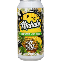 Photo of Deep Creek Brewing Co Mahalo Beer Pineapple Mint Sour 440ml