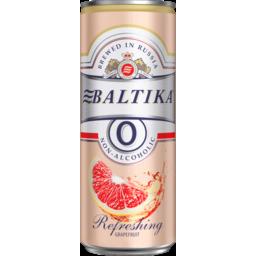 Photo of Beer Baltika 0 Grapefruit Can