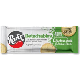 Photo of Ravin R/Crckr C/Salt&It/Herbs 100gm