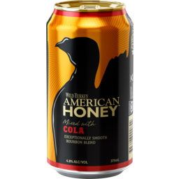 Photo of Wild Turkey American Honey & Cola Can