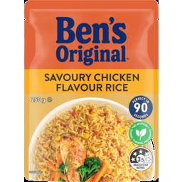 Photo of Bens Original Savoury Chicken Flavour Rice Pouch 250g