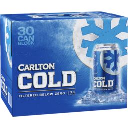 Photo of Carlton Cold Cans