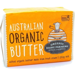 Photo of Organic Dairy Farmers Australian Butter 250g