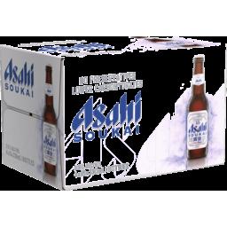 Photo of Asahi Soukai 3.5% Bottle 330ml 24 Pack