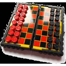 Photo of Checkers Magnetic Mini Board