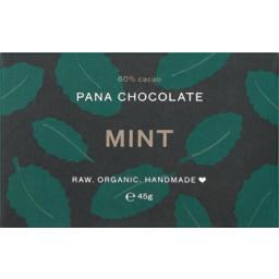 Photo of Pana Chocolate Chocolate - Raw Mint (60% Cacao)