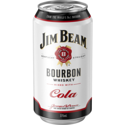 Photo of Jim Beam White & Cola 375ml