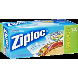 Photo of Ziploc Sandwich Bags 100 Pack