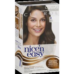 Photo of Nice 'N Easy Clairol Nice'n Easy 4 Dark Brown