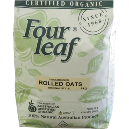 Photo of Four Leaf Milling Cereal - Rolled Oats (Original Style)