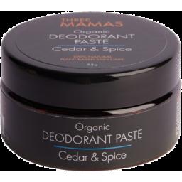 Photo of Three Mamas Deodorant Paste - Cedar & Spice