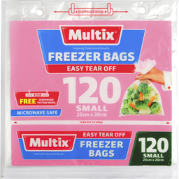 Photo of Multix Freezer Bags Small 120 Pack