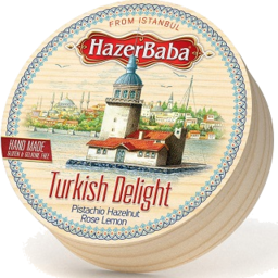 Photo of Hazer Baba Turkish Delight Wood Drum 250gm