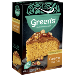 Photo of Green's Caramel Mud Cake Mix 600g