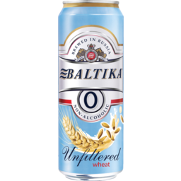 Photo of Beer Baltika 0 Wheat Can
