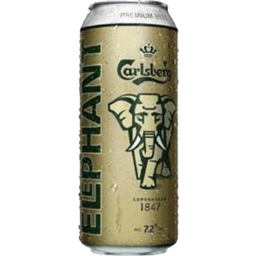 Photo of Carlsberg Elephant Lager Beer 7.2% 500ml