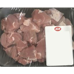 Photo of Diced Pork (trayed)