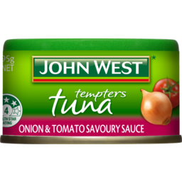 Photo of John West Tuna Tempters Onion & Tomato Savoury Sauce 95g