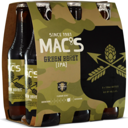 Photo of Mac's Green Beret 330ml Bottles 6 Pack