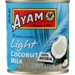 Photo of Ayam Coconut Milk Light 270ml