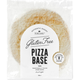 Photo of Toscano Authentic Italian Pizza Base Gluten Free 1pk 180g
