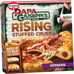 Photo of Papa Giuseppi's Stuffed Crust Supreme Pizza 525gm
