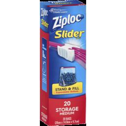 Photo of Ziploc Storage Slider Medium 20s