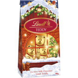 Photo of Lindt Teddy Bear Pouch Bag  80g