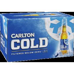 Photo of Carlton Draught Carlton Cold 24 X 355ml Bottles