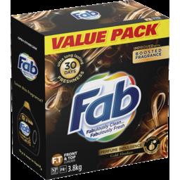 Photo of Fab Perfume Indulgence Gold Absolute, Powder Laundry Washing Detergent, 3.8kg