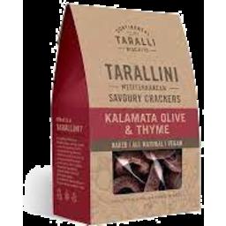 Photo of Tarallini Kalamata Olive & Thyme 125g