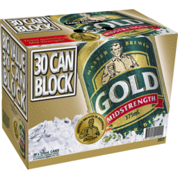 Photo of Gold Midstrength Can 375ml 30 Pack