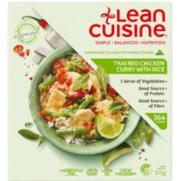 Photo of Lean Cuisine Thai Red Chicken Curry with Rice 375gm