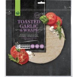 Photo of Wraps WW Garlic 6 Pack