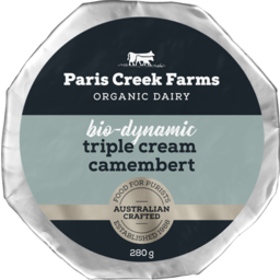 Photo of Paris Creek Farm Triple Cream Camembert 200g