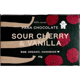 Photo of Pana Chocolate Sour Cherry & Vanilla 45g