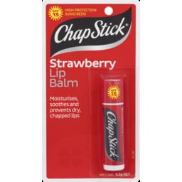 Photo of Chapstick Chap Stick Strawberry Lip Balm Spf 15 4.2g 4.2g
