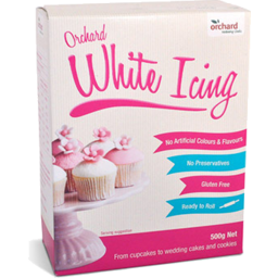 Photo of Orchard Icing White 500gm