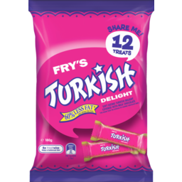 Photo of Frys Turkish Delight Sharepack 180gm
