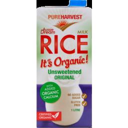 Photo of Pureharvest Pure Harvest Aussie Dream Unsweetened Rice Milk 1 Litre